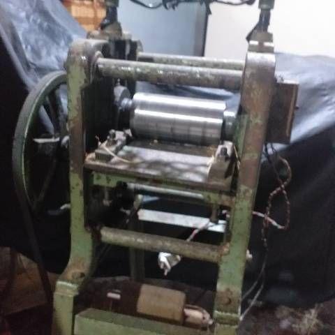 Máquina de passar Vime para fabricação de artesanato  - Foto 2