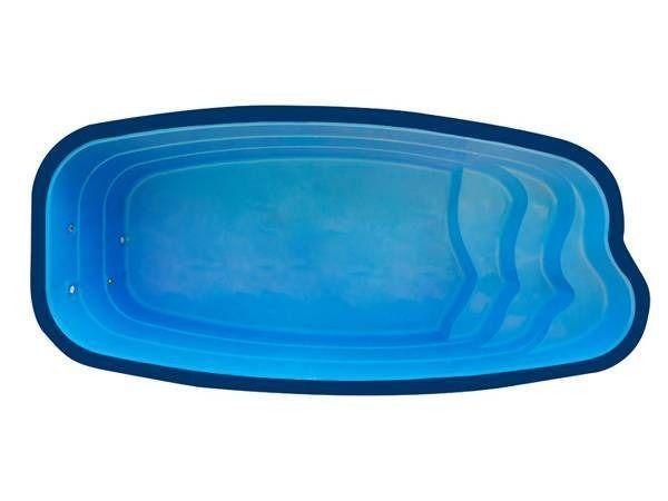 ED Piscina de fibra oval, ideal para sua área de lazer!