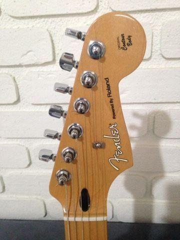 Fender Stratocaster Black By Roland Vg-5