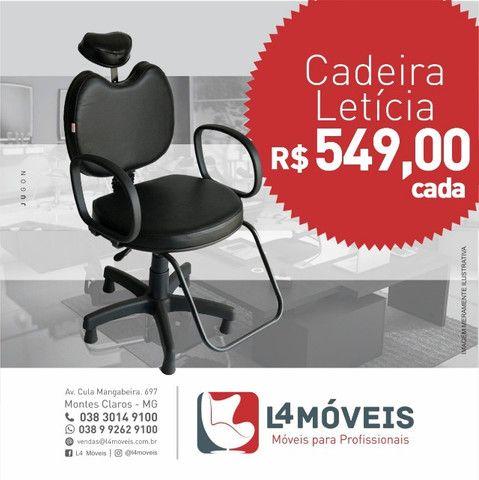 Cadeira/Poltrona Letícia