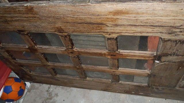 Porta e Janela de madeira pau darco - Foto 5
