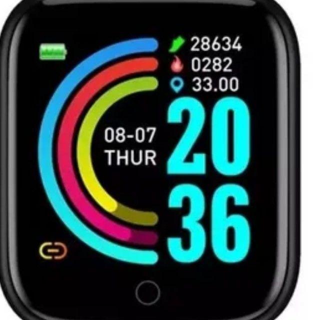 Relógio smart marca D20, Y68, V6