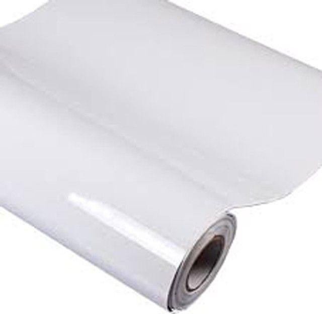 Adesivo Vinil Branco para Impressão Digital solvente / ecosolvente  / uv / latex - Foto 2