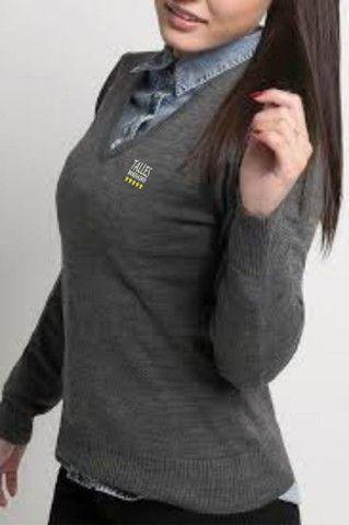 Suéter,  Blusa de Lã para Uniformes - Foto 2
