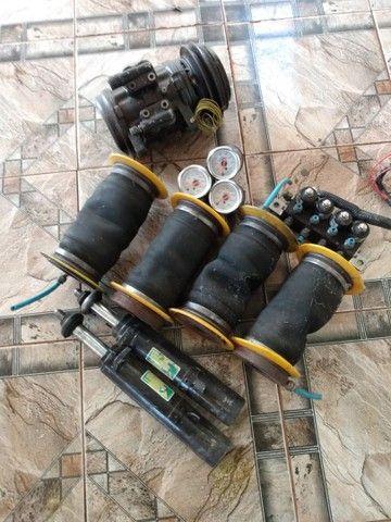 Suspensão a ar 8mm para Saveiro g5  - Foto 4