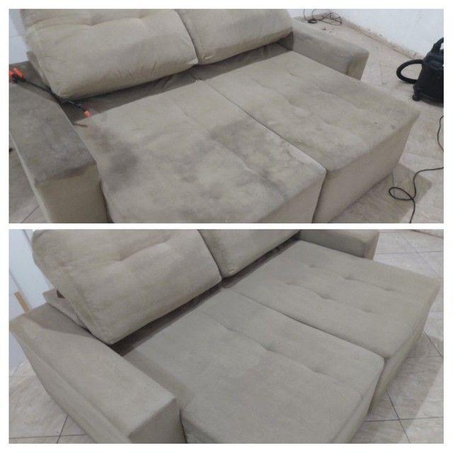 Sofá SUJO ??? Limpeza de sofá !!! - Foto 6