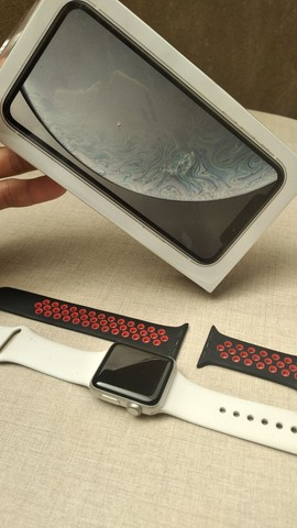 Vendo IPhone XR + Relógio  - Foto 4