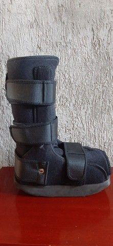 Bota imobilizadora ortopédica