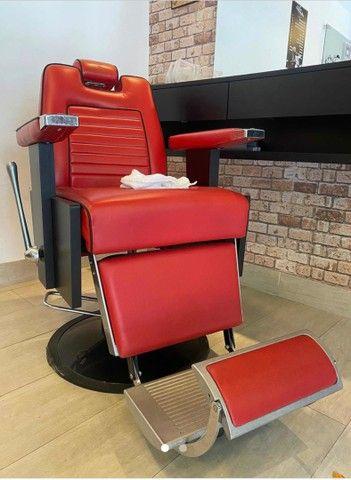 Cadeira Barbeiro Barbearia Ferrante