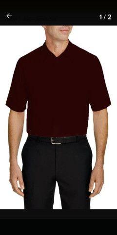 7 Camisas social Mangas curtas e longas