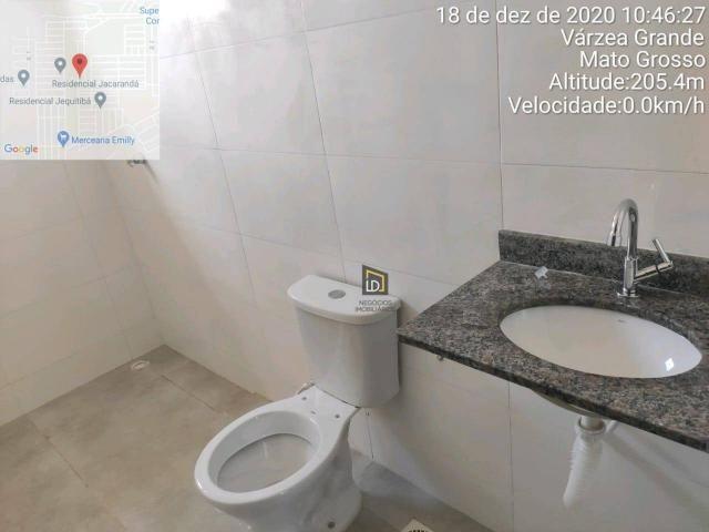 Casa com 2 dormitórios à venda, 66 m² por R$ 159.900 - Jacaranda - Várzea Grande/MT - Foto 6
