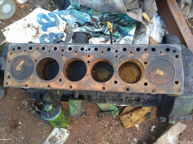 Bloco Chevrolet  da C10  6 cilindros vendo por peças ou o bloco inteiro