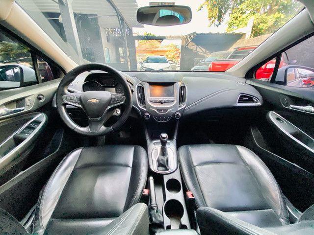 Chevrolet Cruze LT Turbo 1.4 2017 Branco Automático Flex - Foto 3