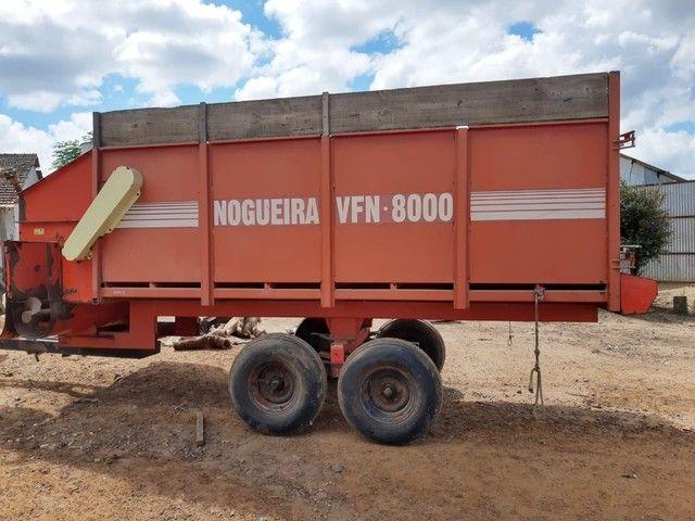 Vagão forrageiro Nogueira vfn 8000