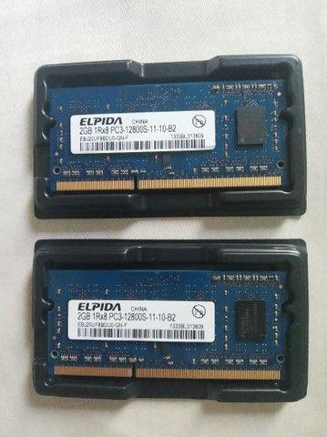 Memória RAM 2 x 2G para Macbook  - Foto 2