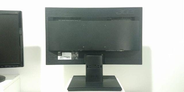 Monitor Acer V206HQL 19.5 polegadas VGA Usado - Foto 5