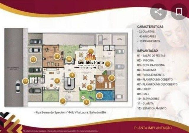 Apartamento com 2/4, 53m², varanda e 1 vaga na Vila Laura - | Villa Vita | VV003 - Foto 4