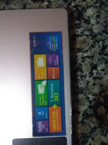 Notebook CCE ultra Thin Ht345Tv - Foto 4