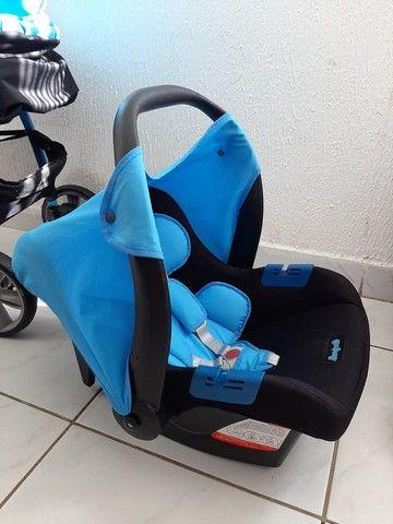 Carrinho e Bebe Conforto que se acoplam - Foto 6