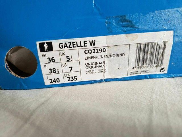 Tênis Adidas Gazelle W Original Novo Tamanho 36 - Foto 5