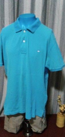 Camisa Polo Azul - G