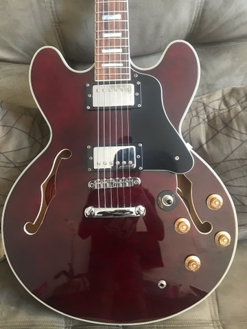 Guitarra Semi acústica Tagima - Foto 5