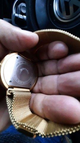Relógio suiço banhado a ouro,VENDO OU TROCO - Foto 3