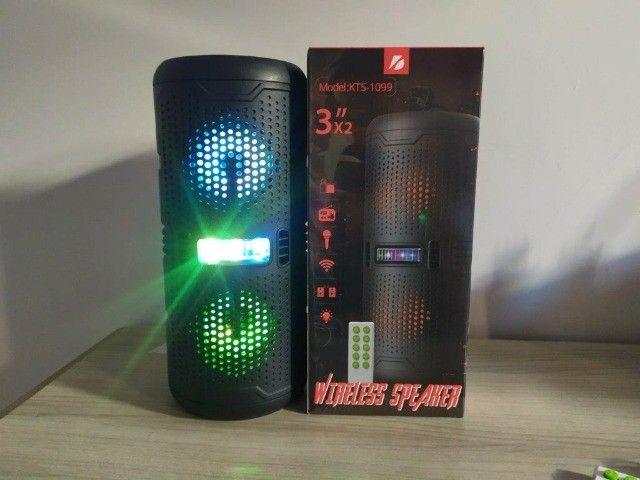 Caixa de som Bluetooth Big Sound KTS-1099 - Foto 4