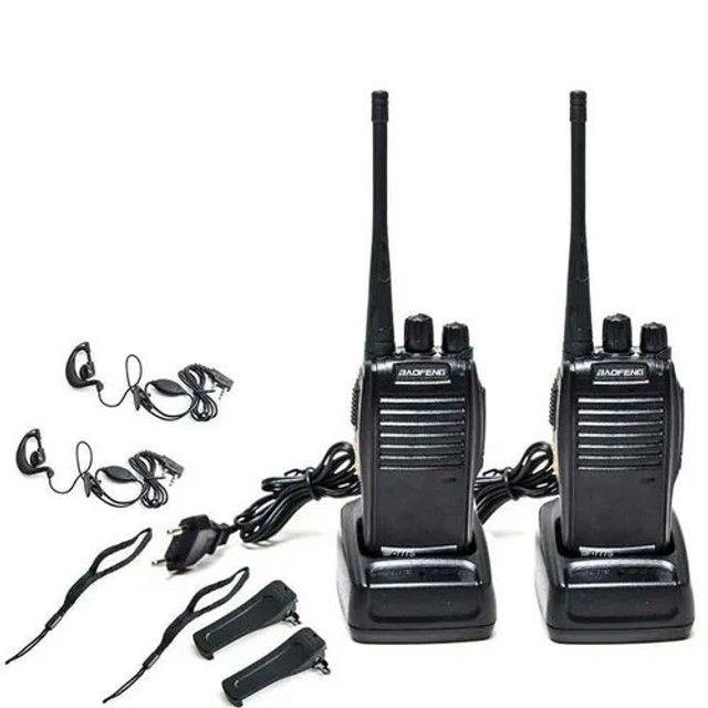 2 Rádio Comunicador Walk Talk Baofeng Bf-777s - Foto 2