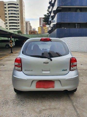 Nissan March SV 1.6 2013/2014 16V Prata Classic - Foto 4