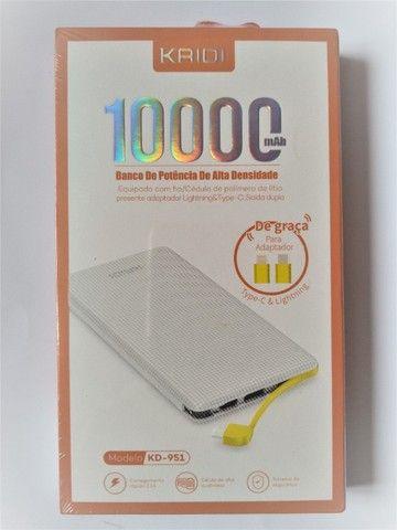 Carregador Portátil Kaidi Power Bank Original Slim Kd-951 10000mah