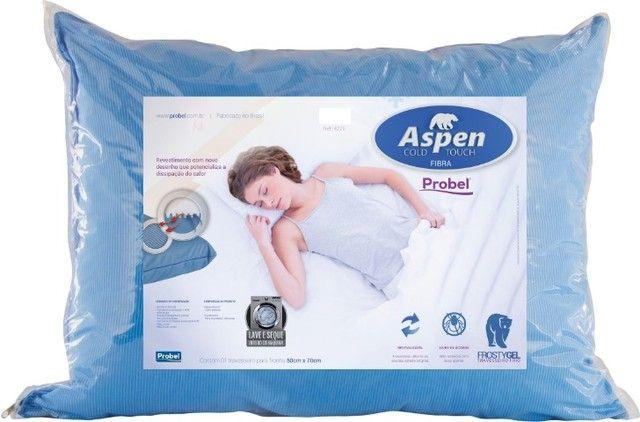 Travesseiro Aspen Fibra Cold Touch