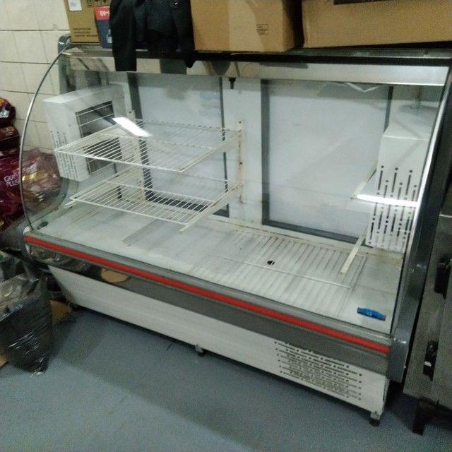 Expositor, Refrigerador, Pia, Coifa, dutos, tudo INOX  - Foto 3