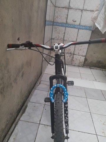 Vendo bicicleta Kaloi de aluminio - Foto 3