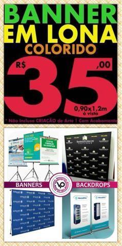 Banner em Promoção - R$ 35,00