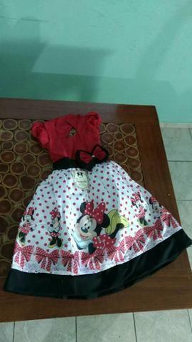 Vestido infantil - Minnie