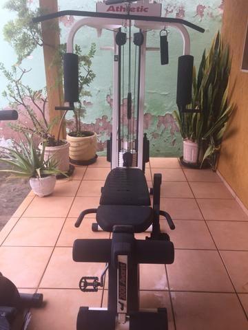 Estação de musculação Atlethic em Sobradinho