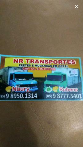 NR transporte fretes e mudanças (85) 989501314