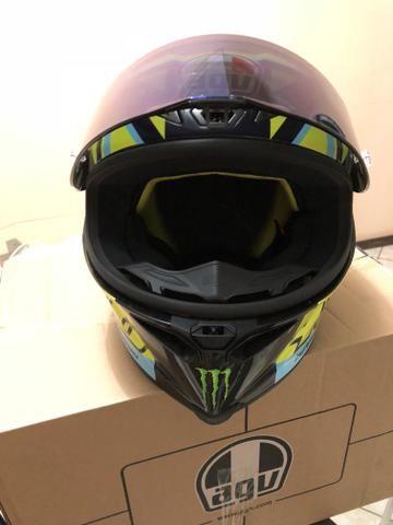 Capacete AGV pista GPR Soleluna Valentino Rossi