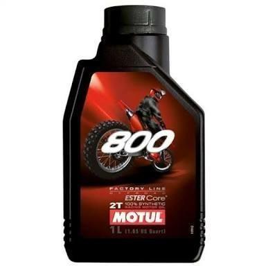 Motul 800 Lubrificante 2T 100% sintético