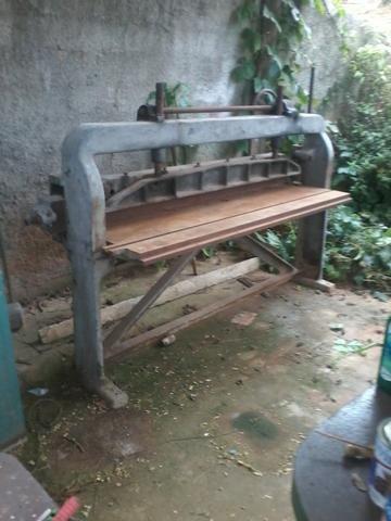 Guilhotina para corte de lâminas de madeira máquina para marcenaria