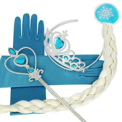 Kit Acessórios Completo Frozen Elsa E Frozen Anna