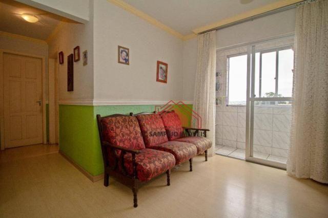 Apartamento com 3 dormitórios à venda, 69 m² por r$ 270.000,00 - santa quitéria - curitiba - Foto 7