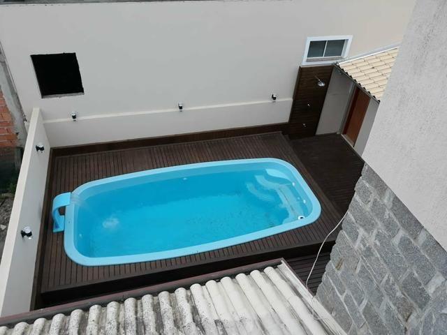 Linda casa com piscina R$ 850.00