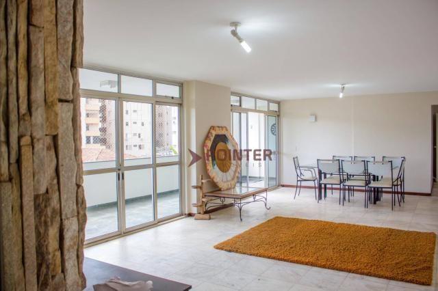 Apartamento com 3 dormitórios para alugar, 270 m², 03 vagas de garagens, ED. NOTRE DAME, p - Foto 4