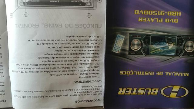 Vendo DVD automotivo marca H Buster modelo 9150 - Foto 4