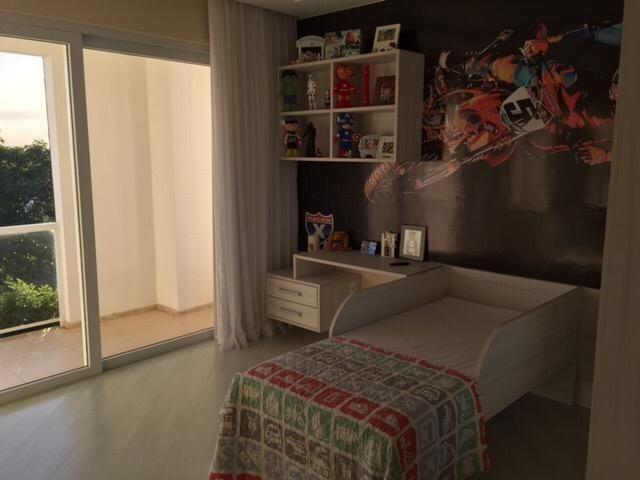 Casa cond. de Luxo, mobiliada, 5/4, sendo 4 Suítes, com piscina - Foto 9