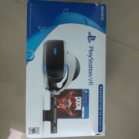 Óculos VR + câmera Playstation