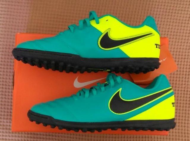 c79c43e9ed Chuteira Nike Tiempo Rio 3 TF Tam 39 (Original novo sem uso ...