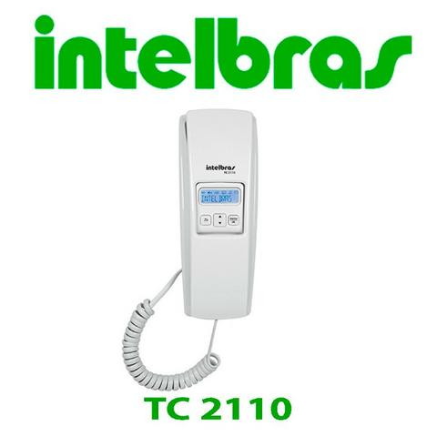 Telefone Gôndola com Fio, Intelbras , TC 2110, Branco com identificador de chamadas - Foto 3